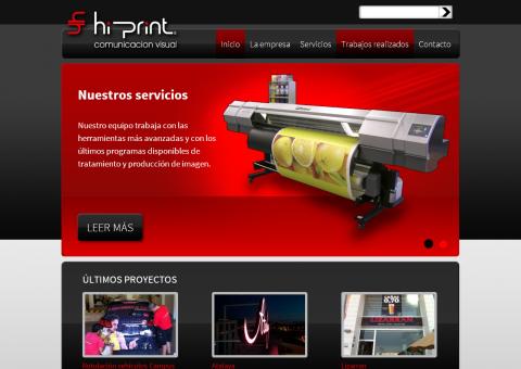 Desarrollo web de HiPrint - Alicante