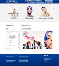Web desarrollada de Novared Alicante